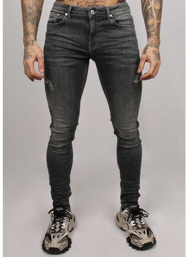 2LEGARE NOAH stretch jeans - Mid Grey