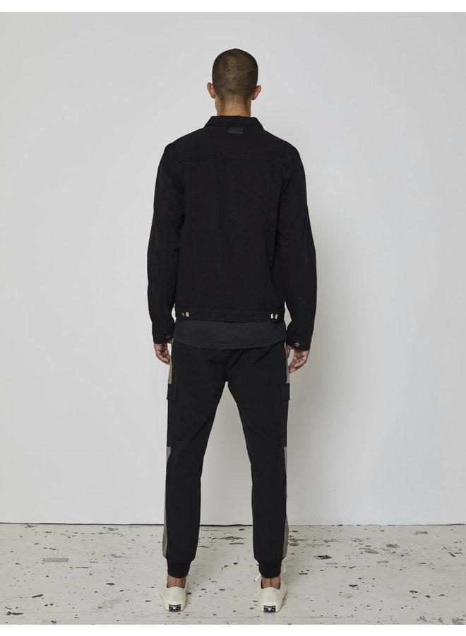 Just Junkies Rolf Denim Jacket - Black