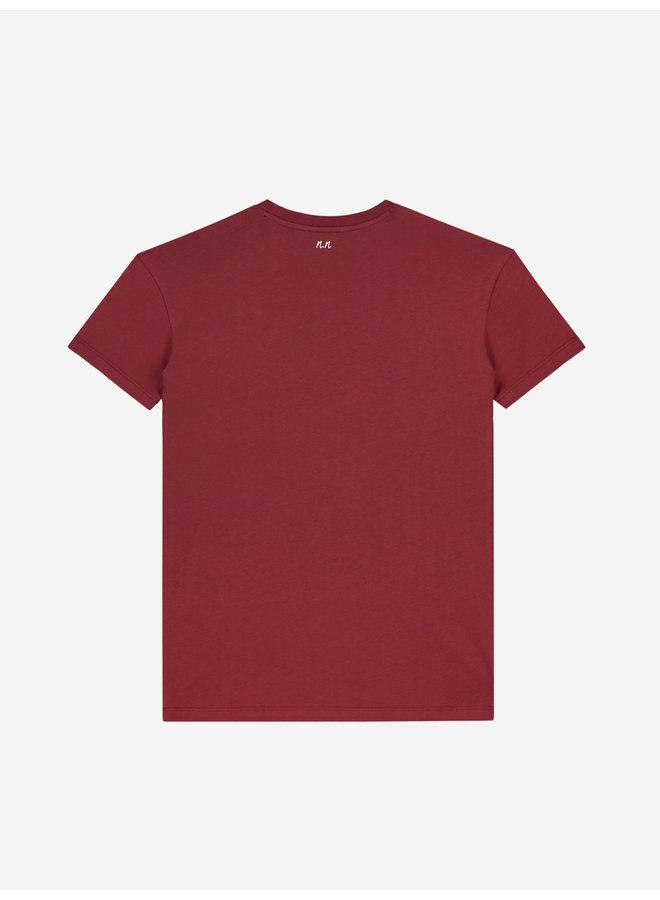 Nik&Nik Lutz T-Shirt - Mid Red
