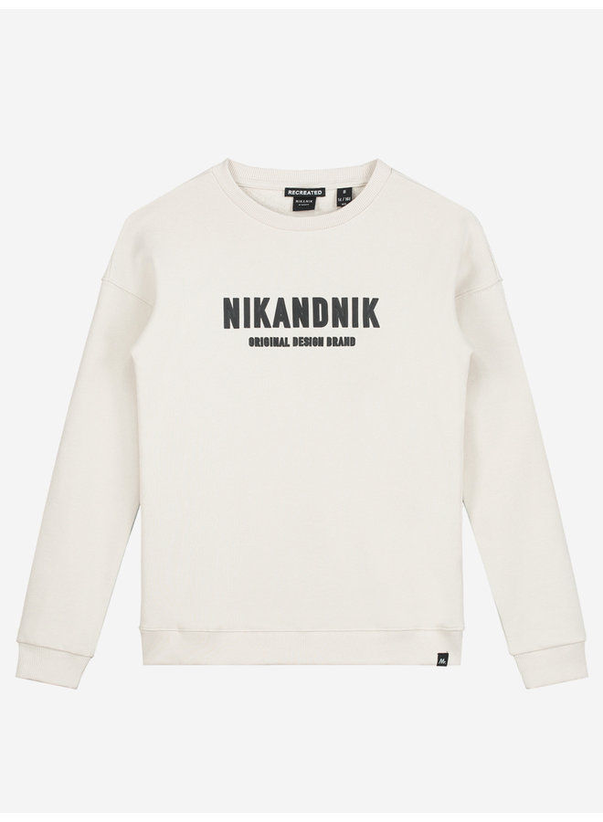 NIK&NIK Milo Sweater - Dusty White