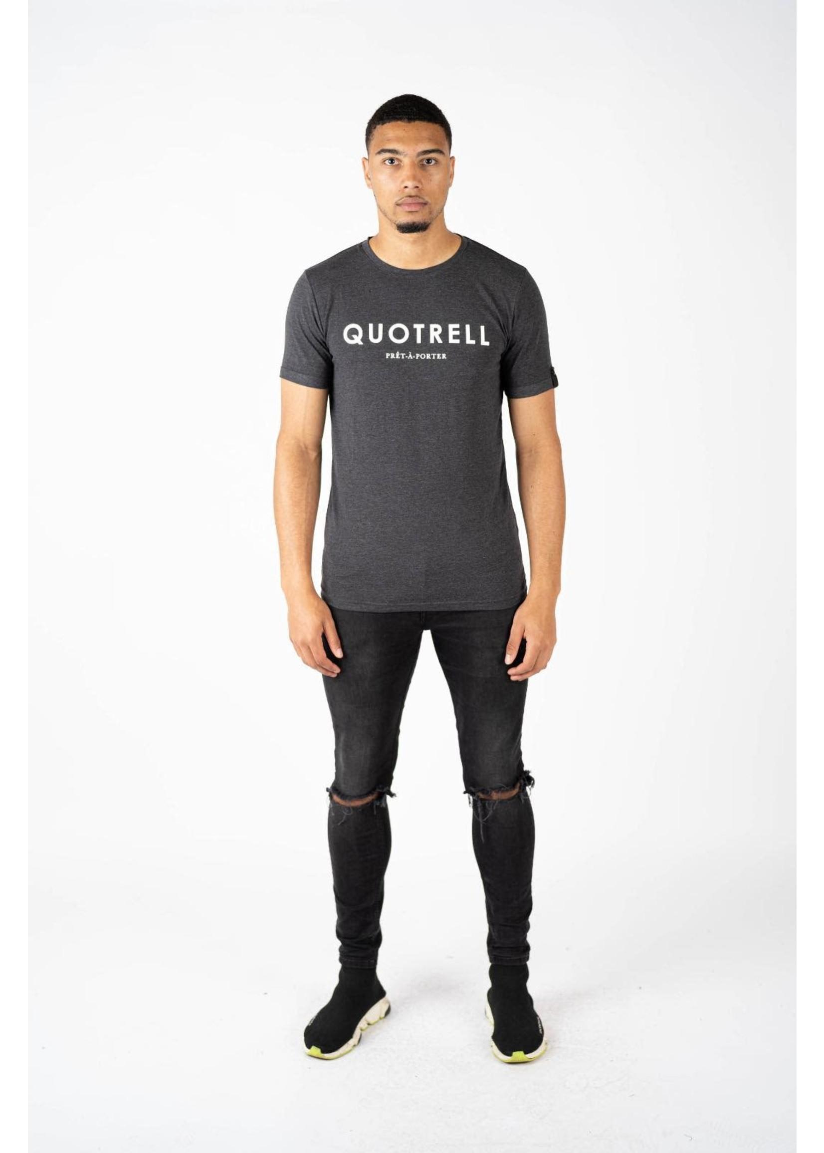 Quotrell QUOTRELL Basic T-Shirt - Grey