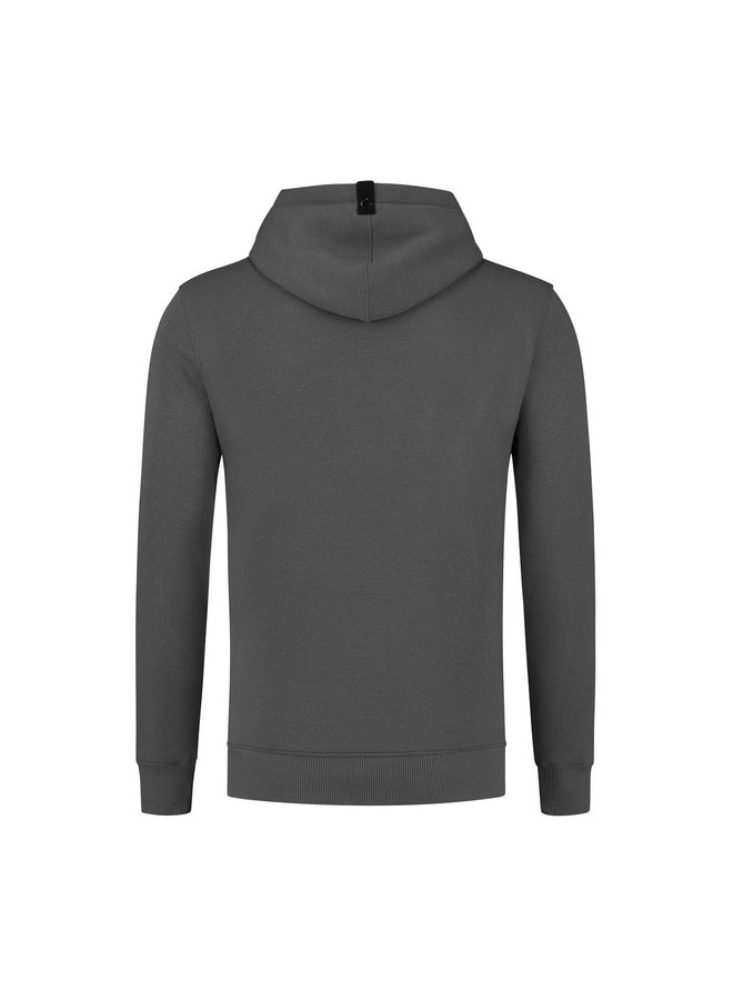 QUOTRELL Basic Hoodie - Grey