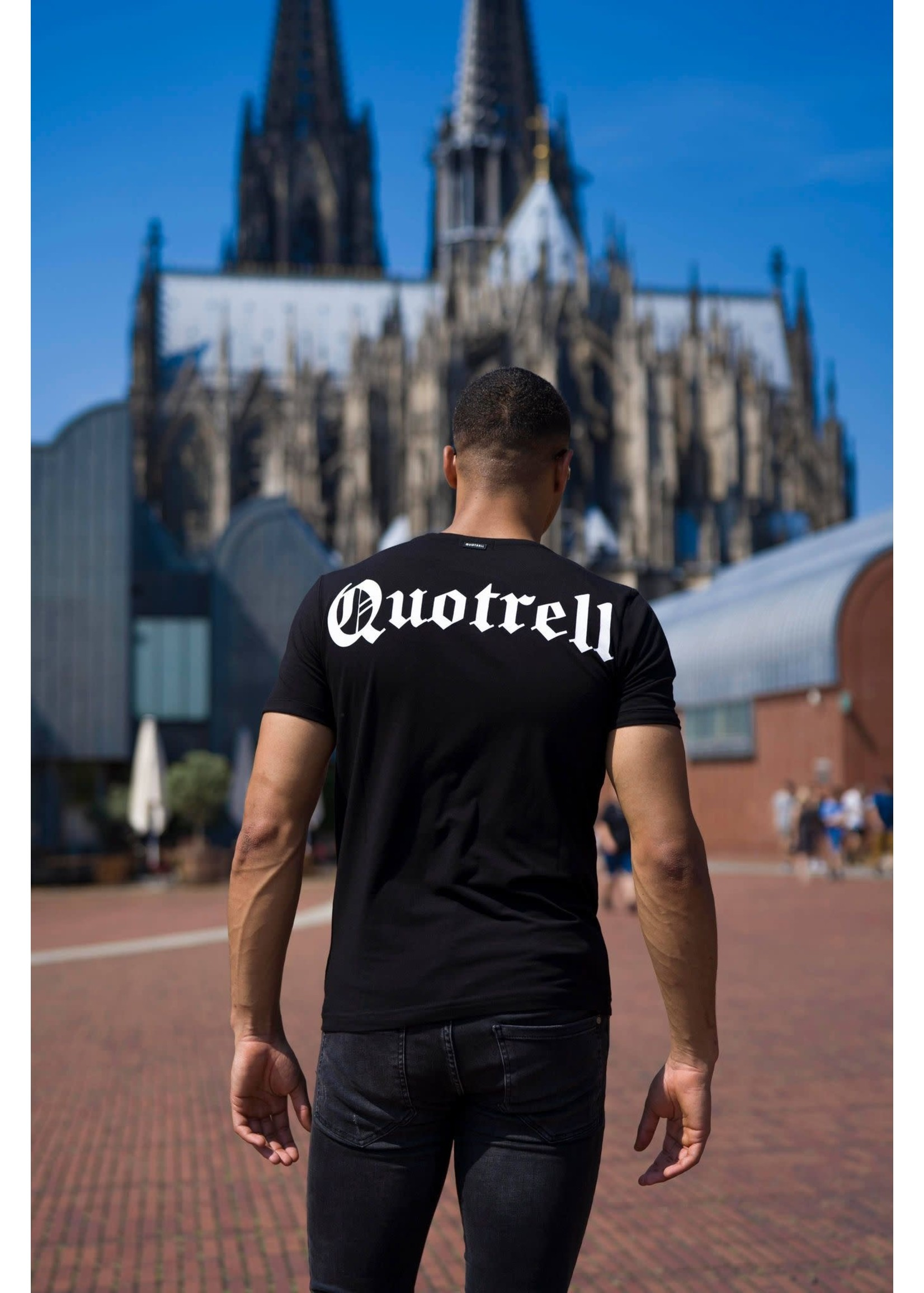 Quotrell QUOTRELL Wing Tee 2.0 - Black