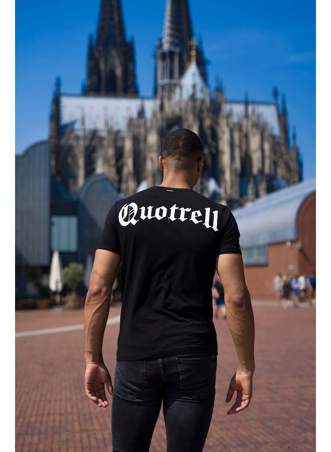 QUOTRELL Wing Tee 2.0 - Black