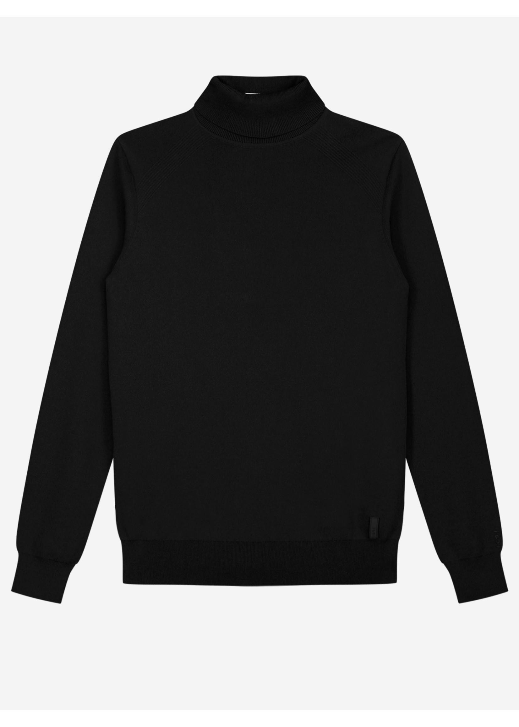 Sustain Sustain Knitted Turtleneck Sweater - Black