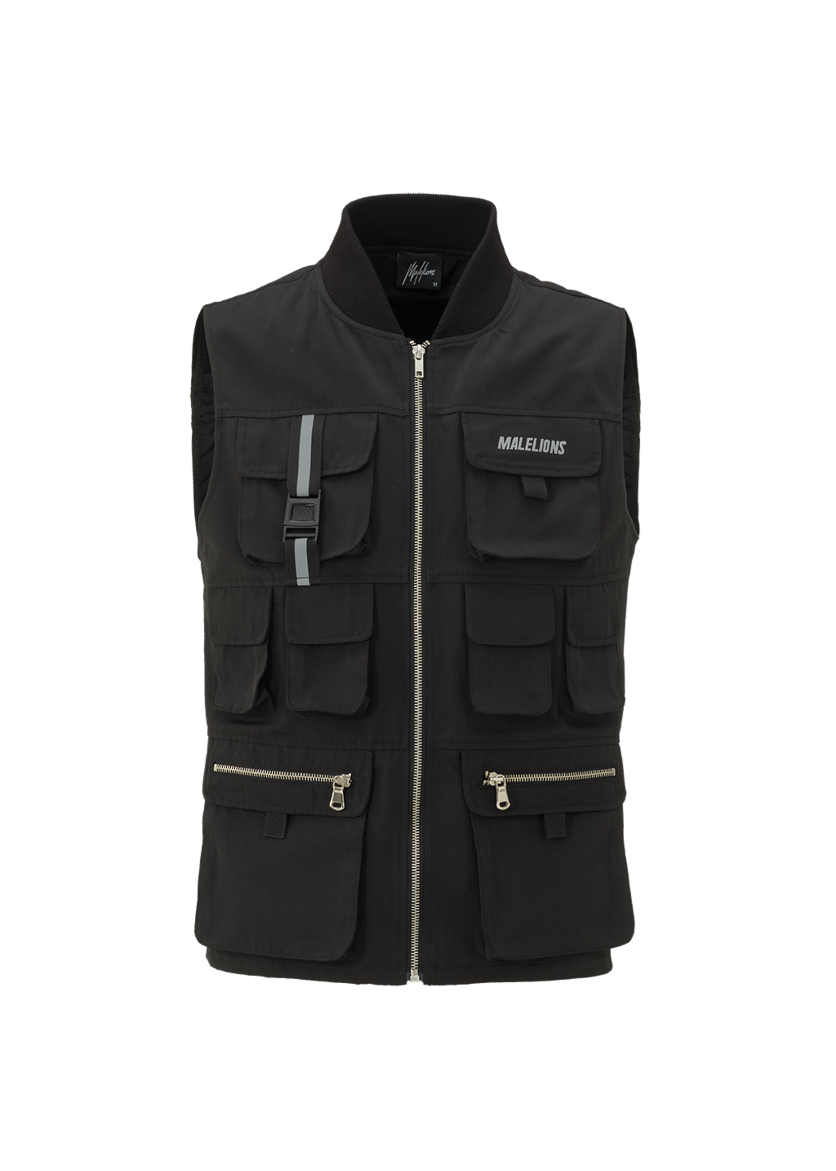 Malelions Malelions Tactical Reflective Vest - Black
