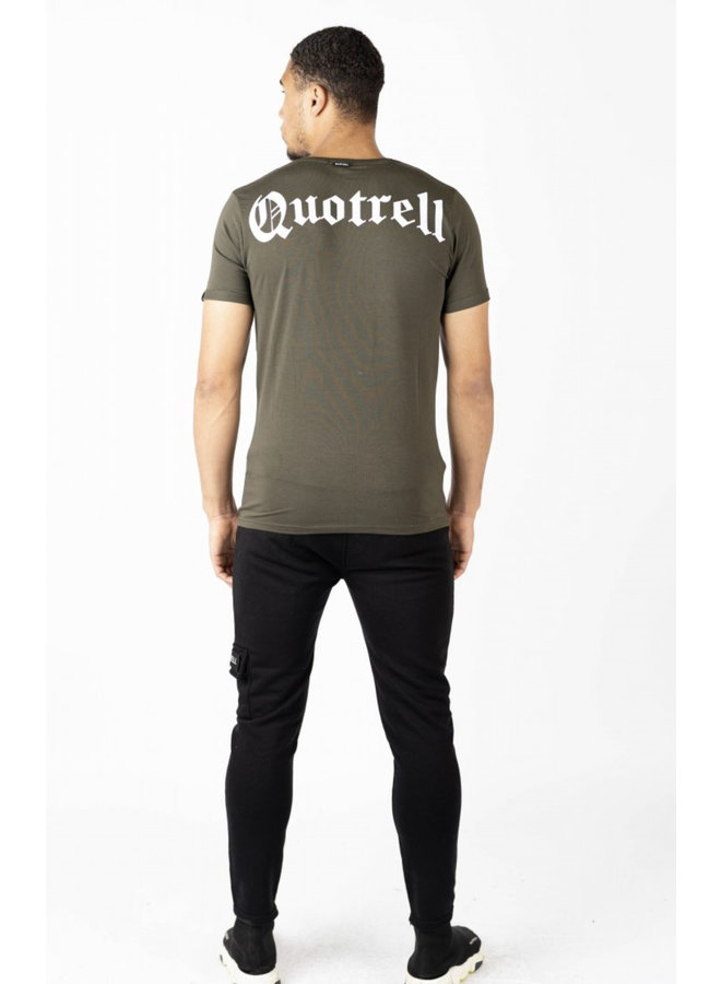 Quotrell Wing Tee 2.0  - Army