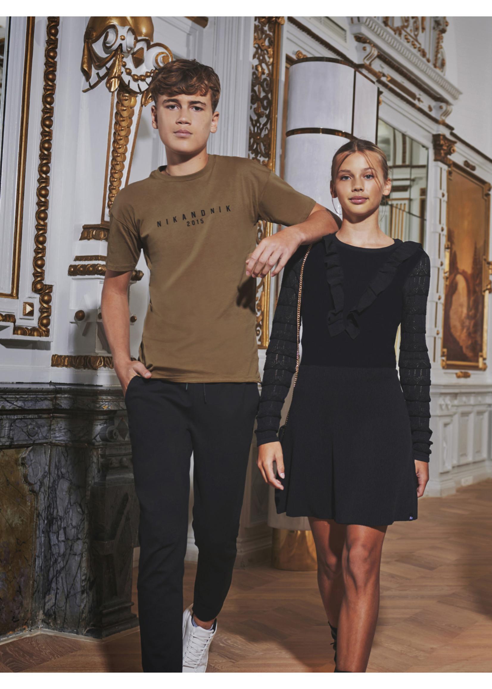 NIK&NIK Nik&Nik Zacarias T-Shirt - Warm Brown