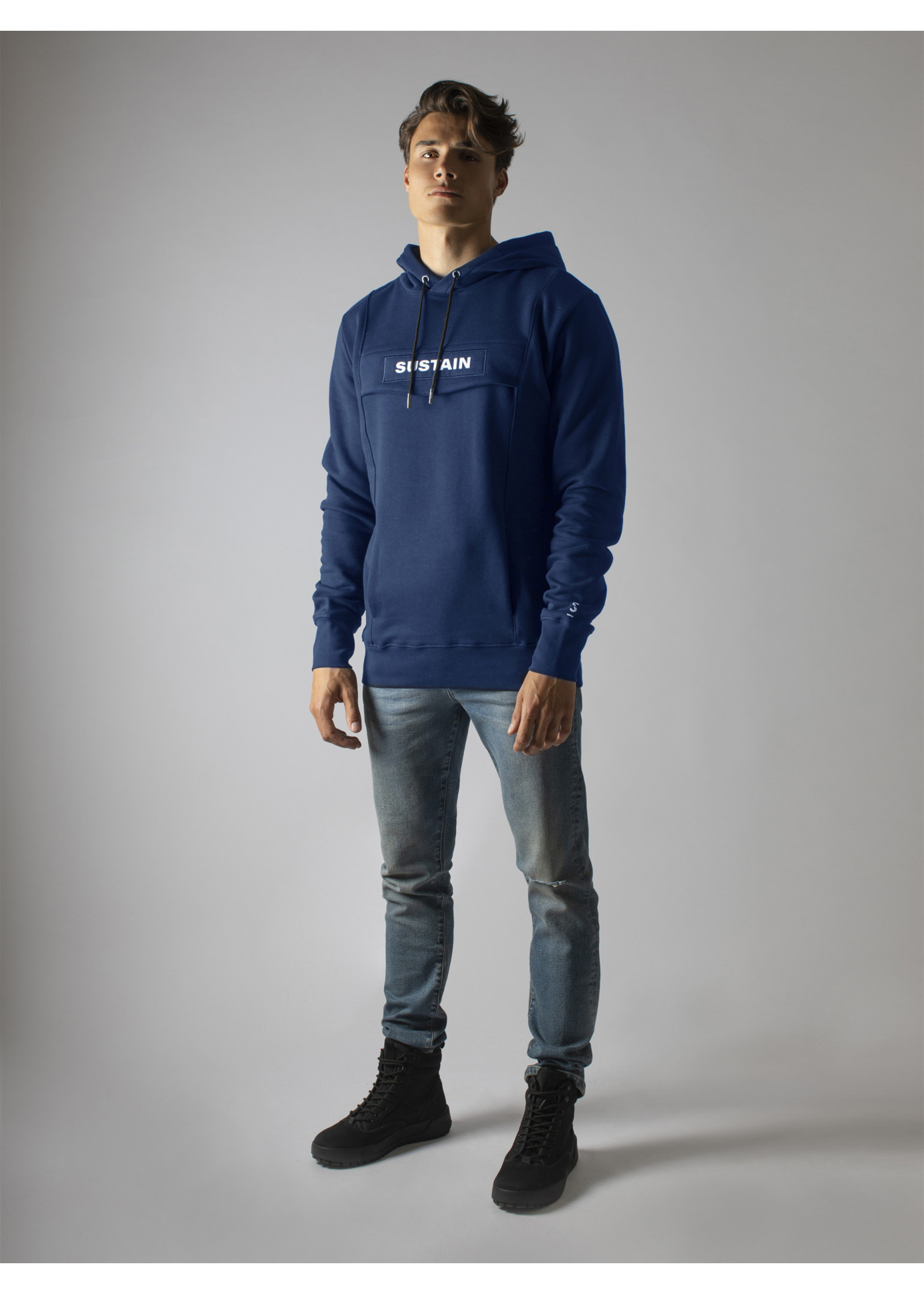 Sustain Sustain Logo Anorak Regular - Blue