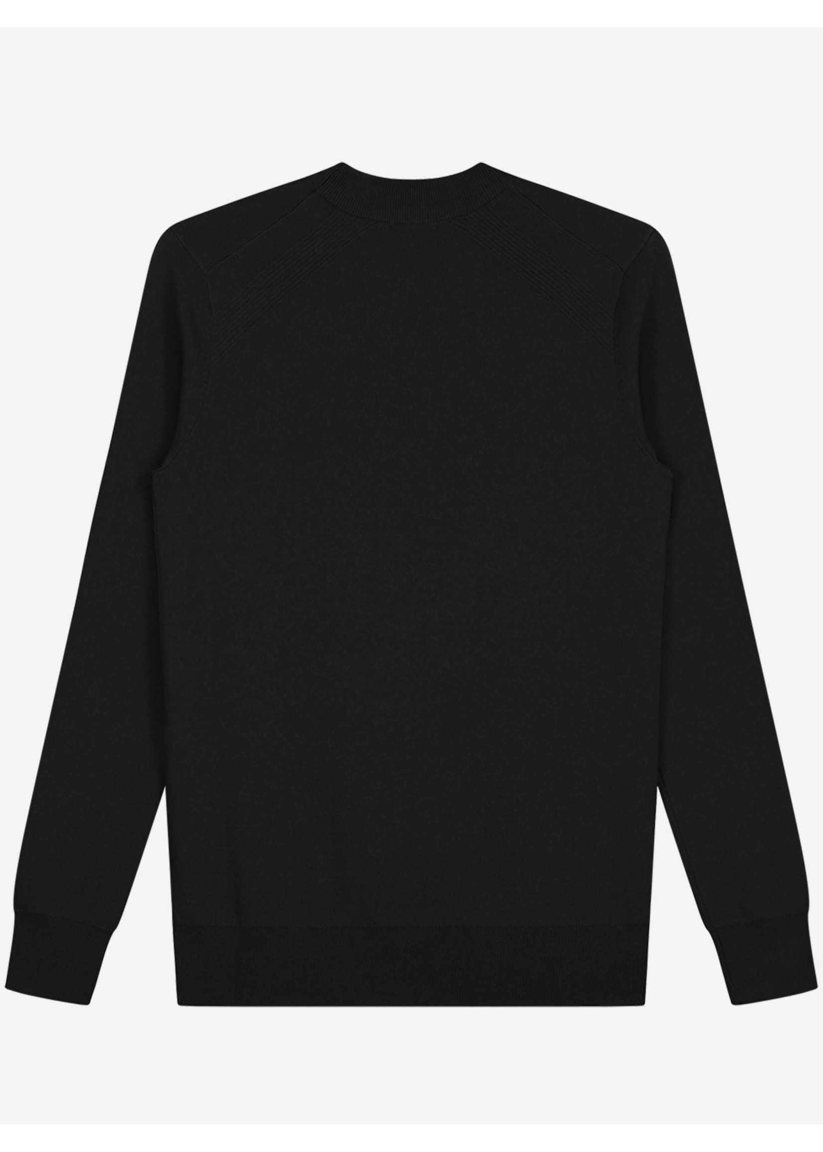 Sustain Sustain Reverse Crewneck Knit - Black