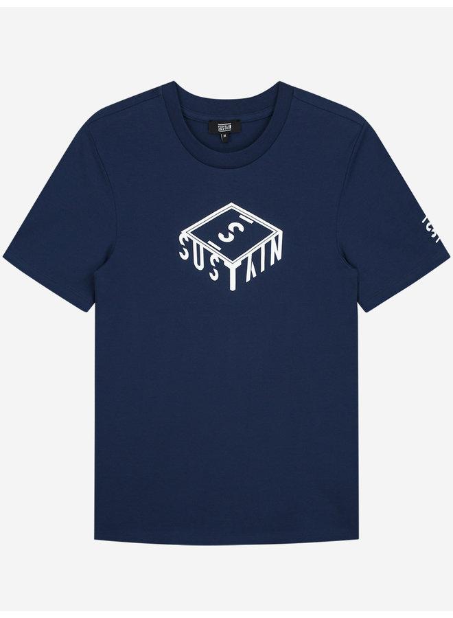 Sustain 3D Box Logo Regular - Blue
