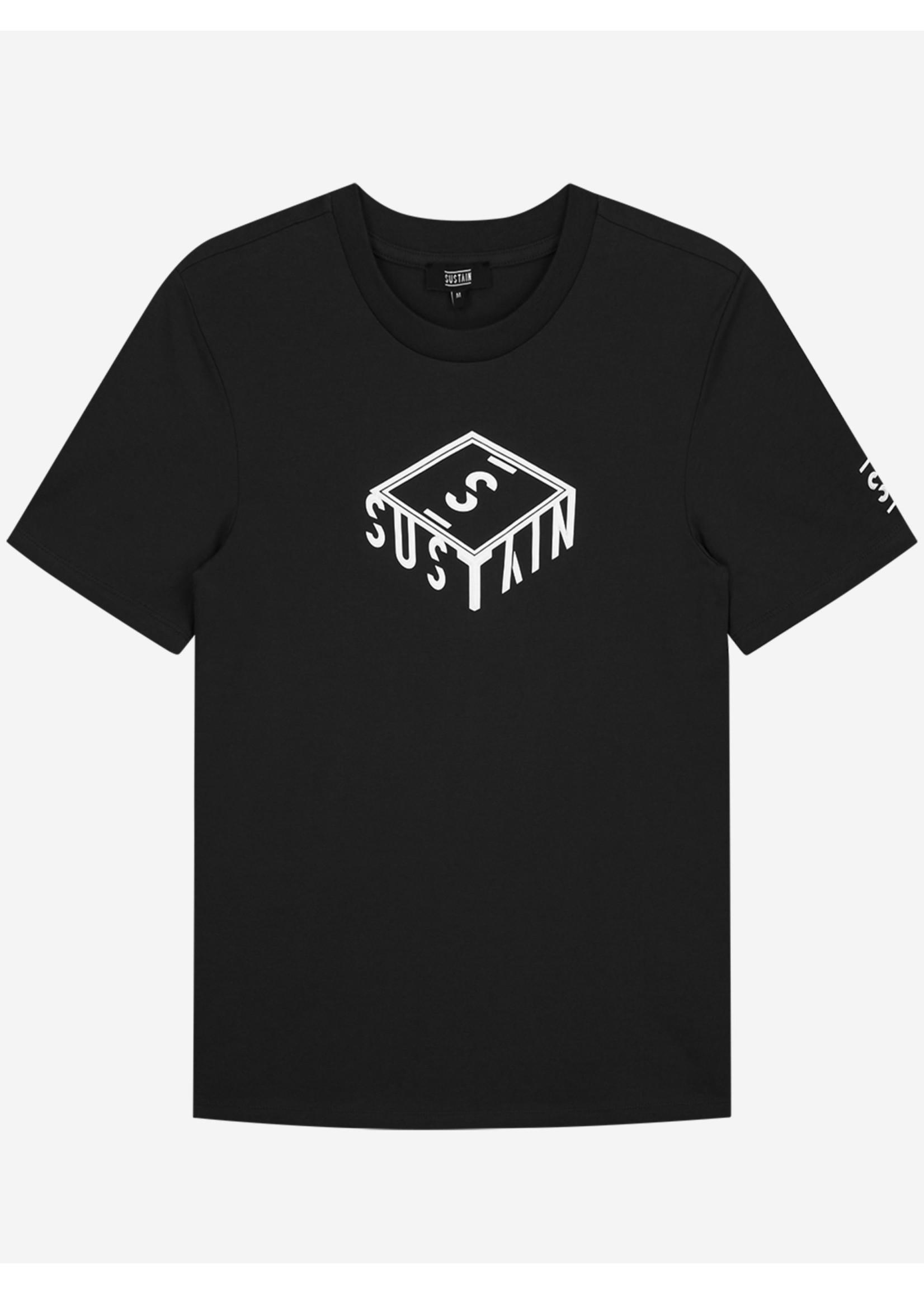 Sustain Sustain 3D Box Logo Regular - Black