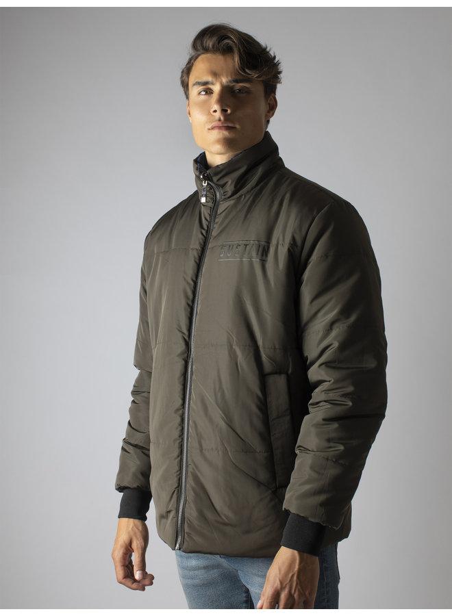 Sustain Reversible Puffer Jacket - Nine Iron/Blue
