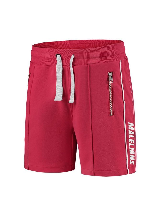 Malelions Junior Thies Shorts - White/Red