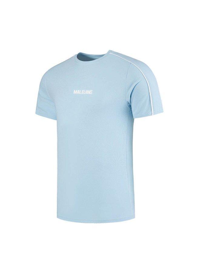 Malelions Junior Thies T-Shirt - Light Blue