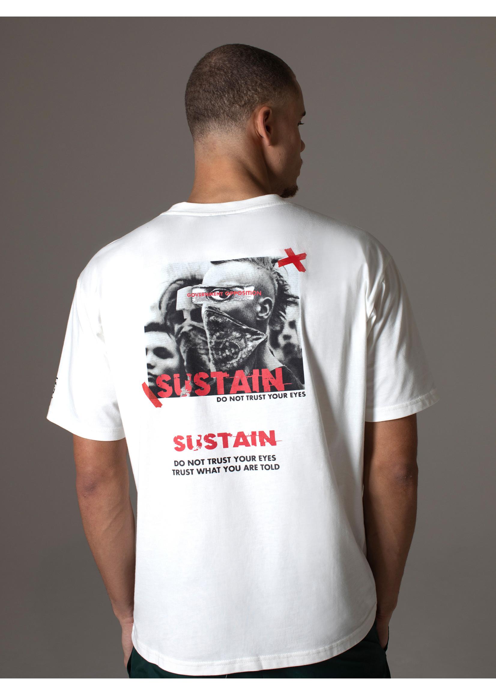 Sustain Sustain Eyes Boxy - Off White