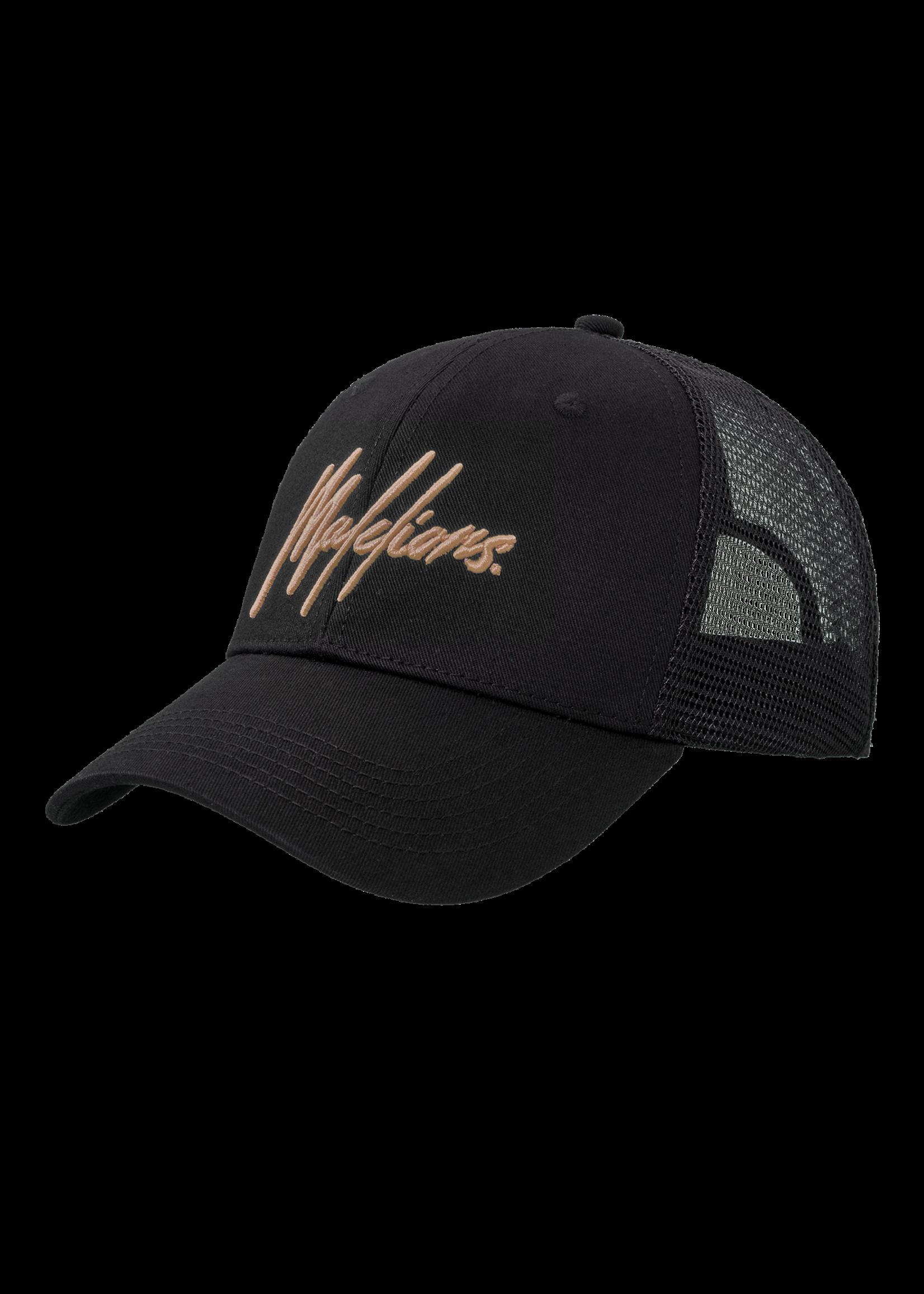 Malelions Malelions Signature Caps - Black/Gold