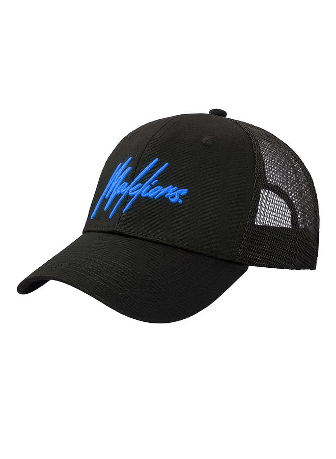 Malelions Signature Cap - Black/Blue