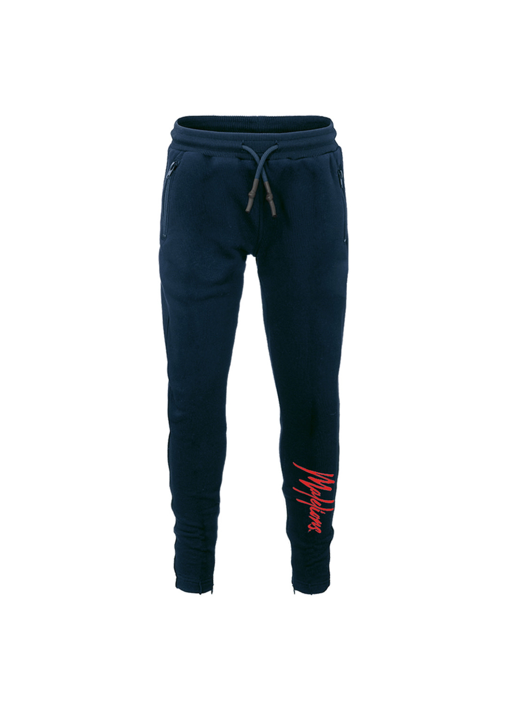 Malelions Malelions Junior Trackpants Signature - Navy/Red