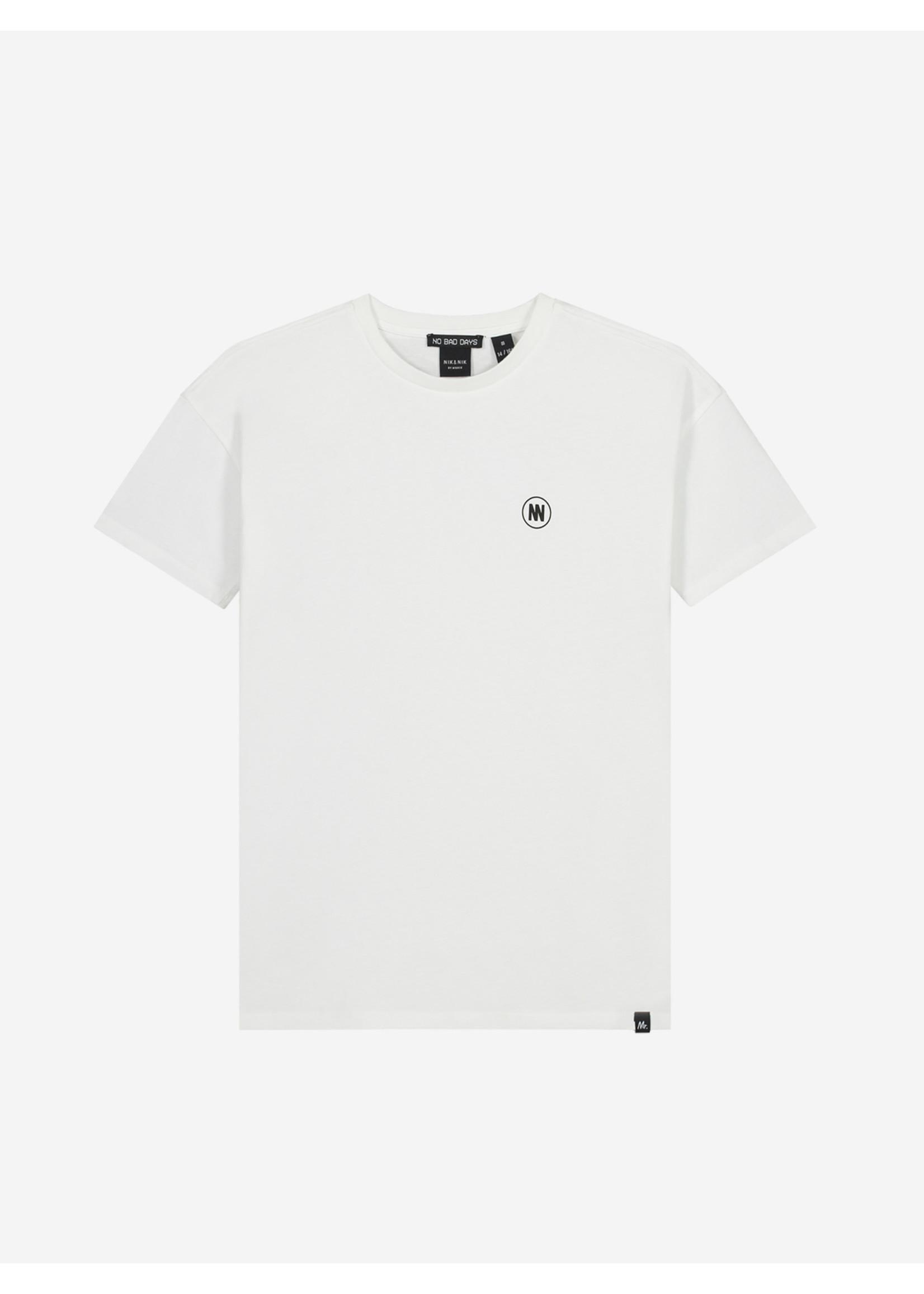 NIK&NIK NIK&NIK Dirk T-Shirt - Off White