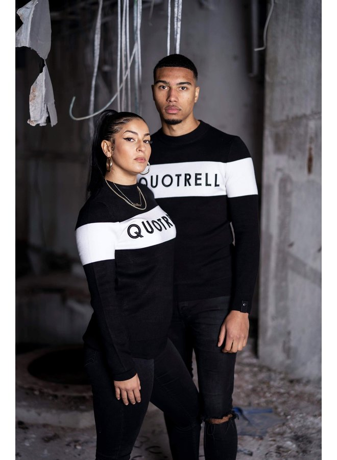 QUOTRELL Manchester Sweater - Black