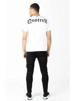 Quotrell QUOTRELL Wing T-Shirt 2.0  - White