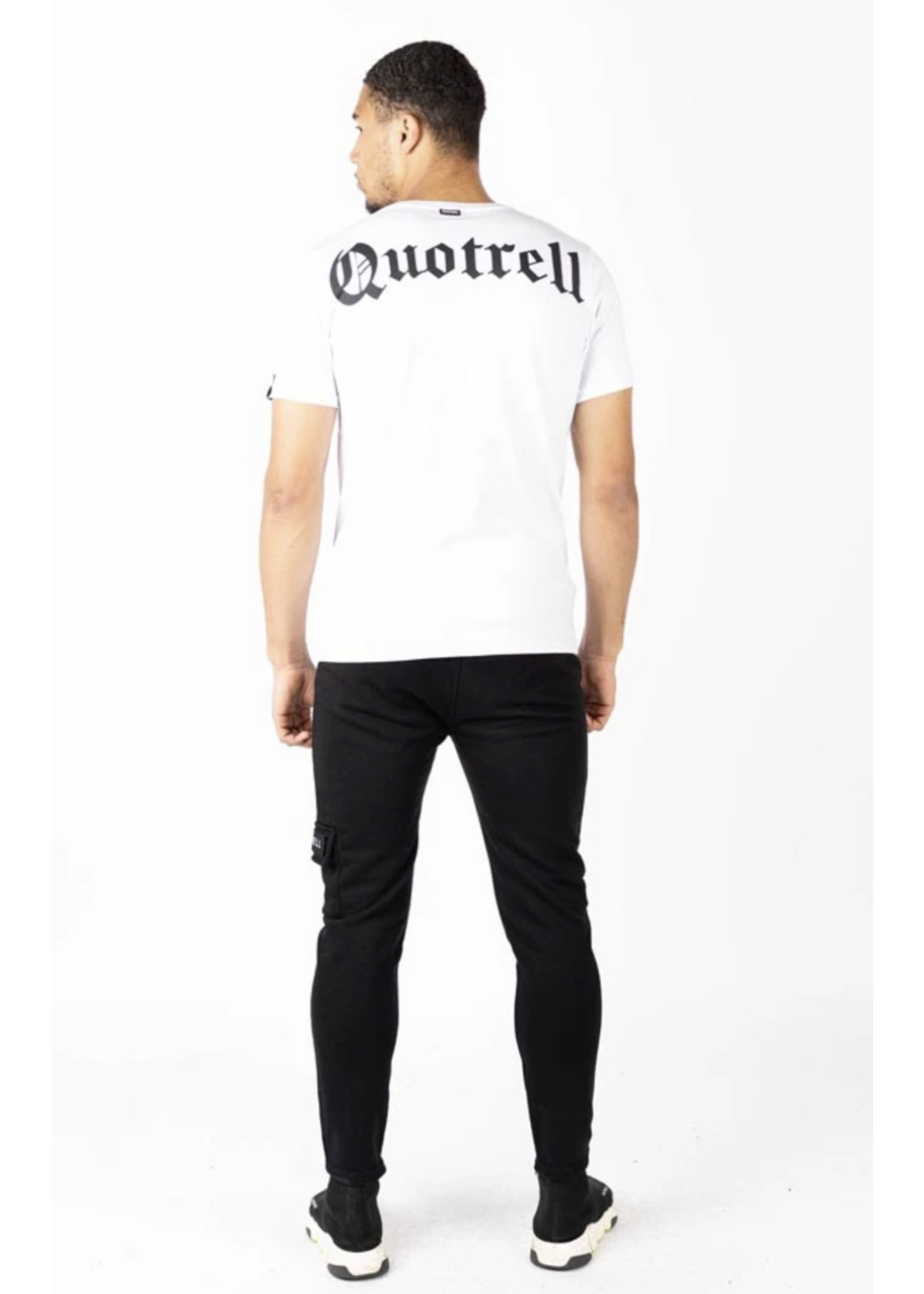 Quotrell QUOTRELL Wing Tee 2.0 - White