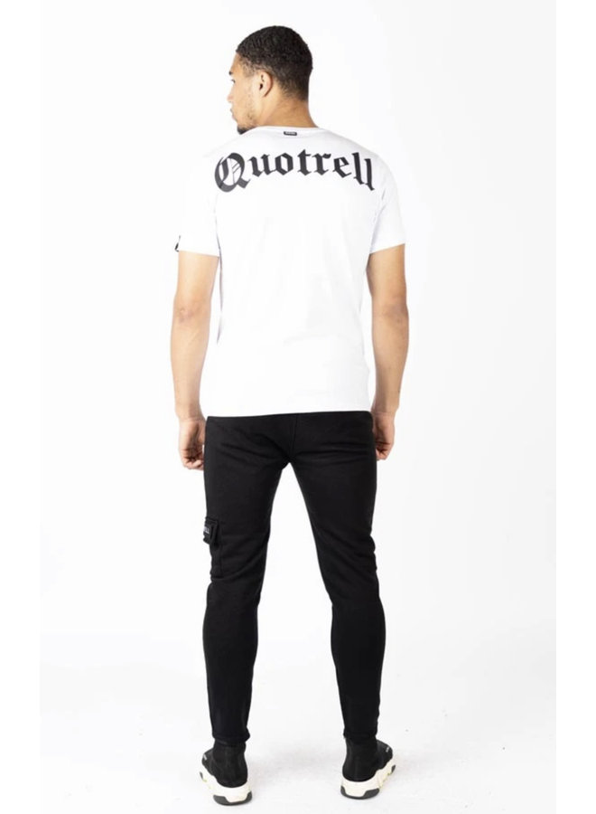 QUOTRELL Wing T-Shirt 2.0  - White