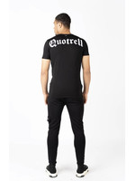 Quotrell QUOTRELL Wing T-Shirt 2.0  - Black