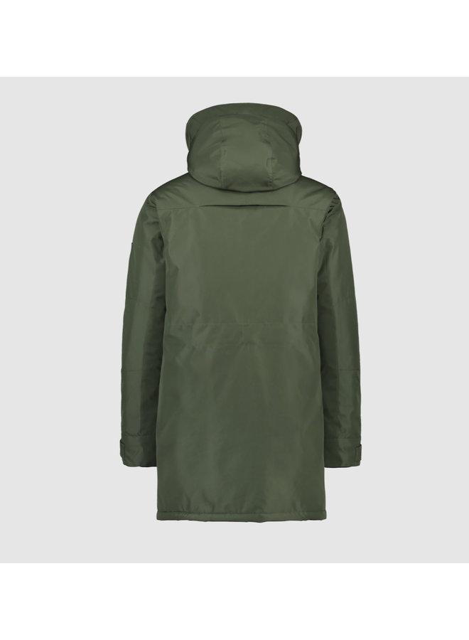 Purewhite Parka Jas - Army Green