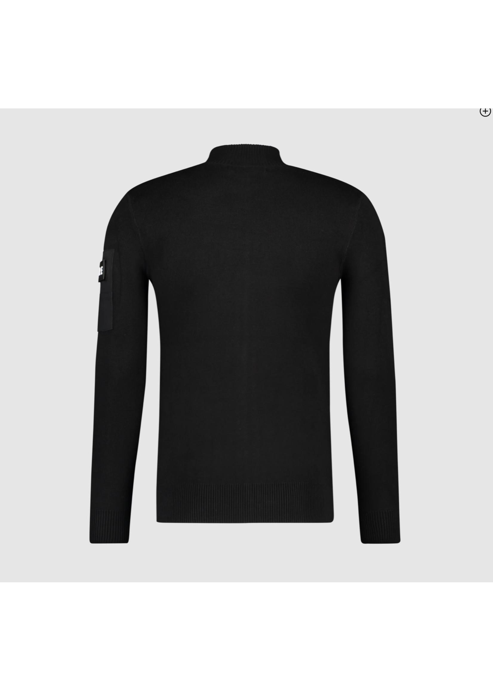 Purewhite Purewhite Knitted Cardigan - Black