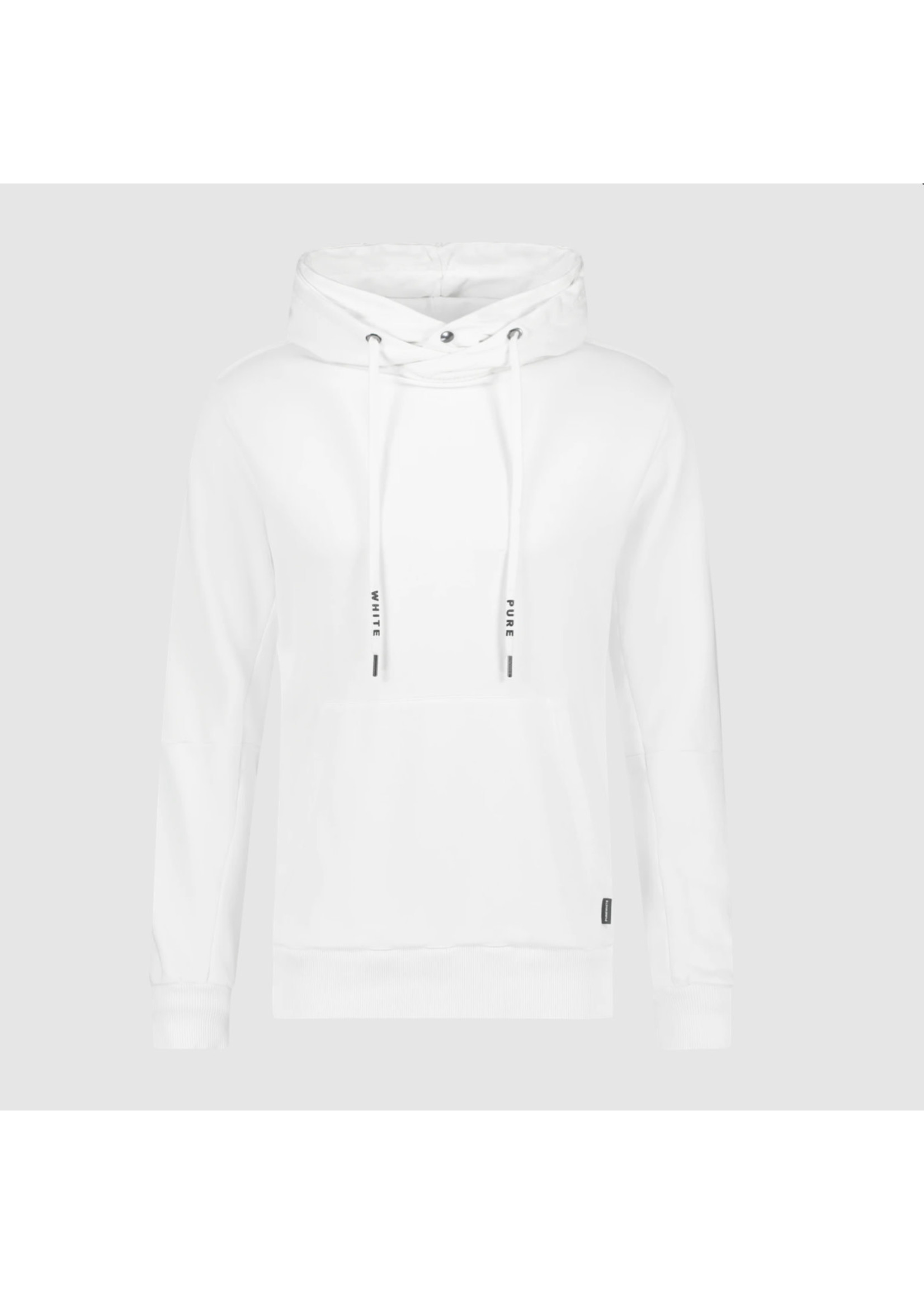 Purewhite Purewhite Double Hooded Hoodie - Off White