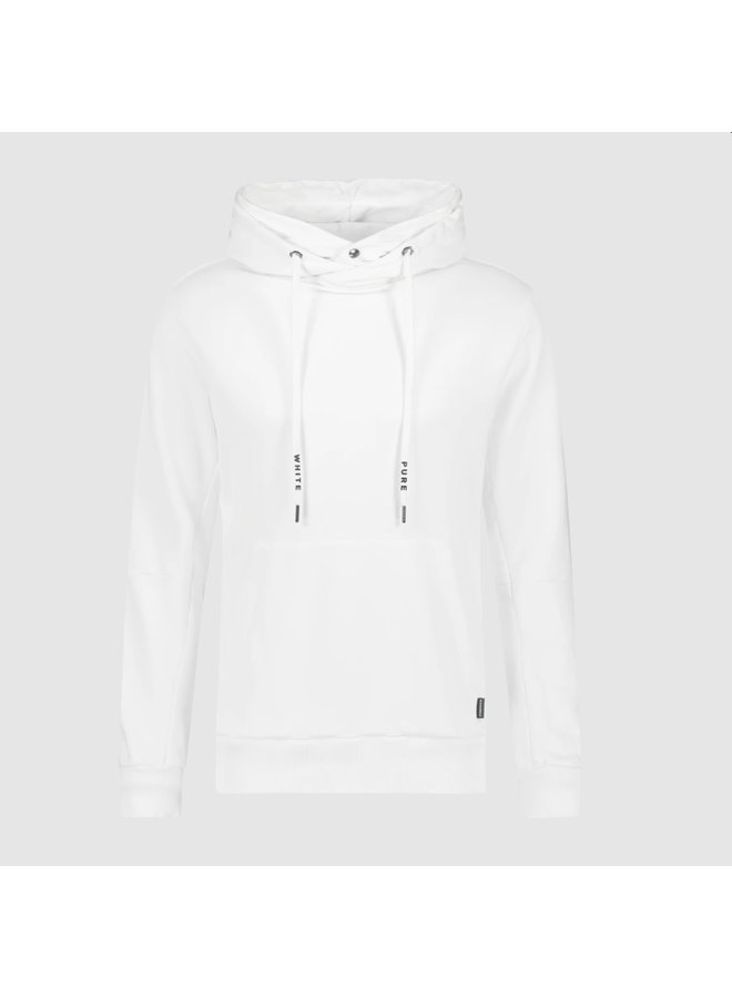 Purewhite Double Hooded Hoodie - Off White