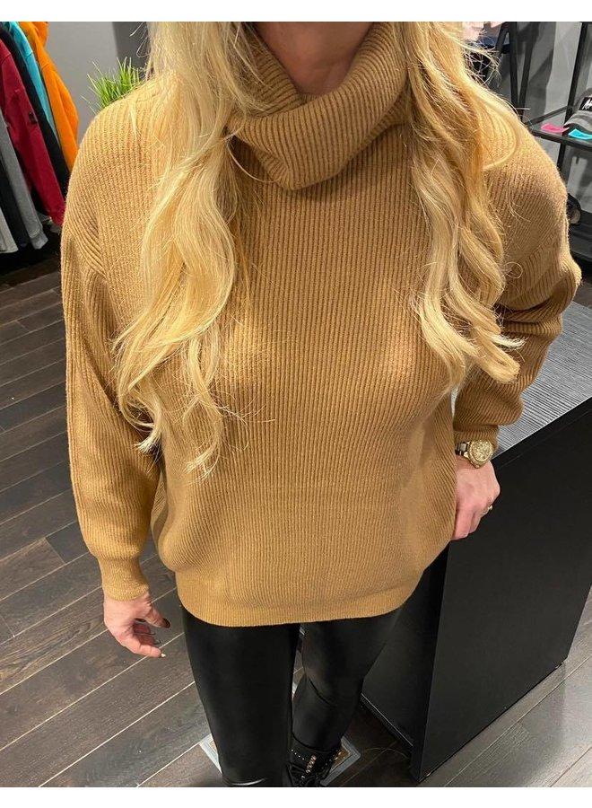Col Sweater Anna - Brown