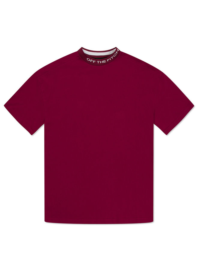 Off The Pitch The Orphan Tee - Dark Red