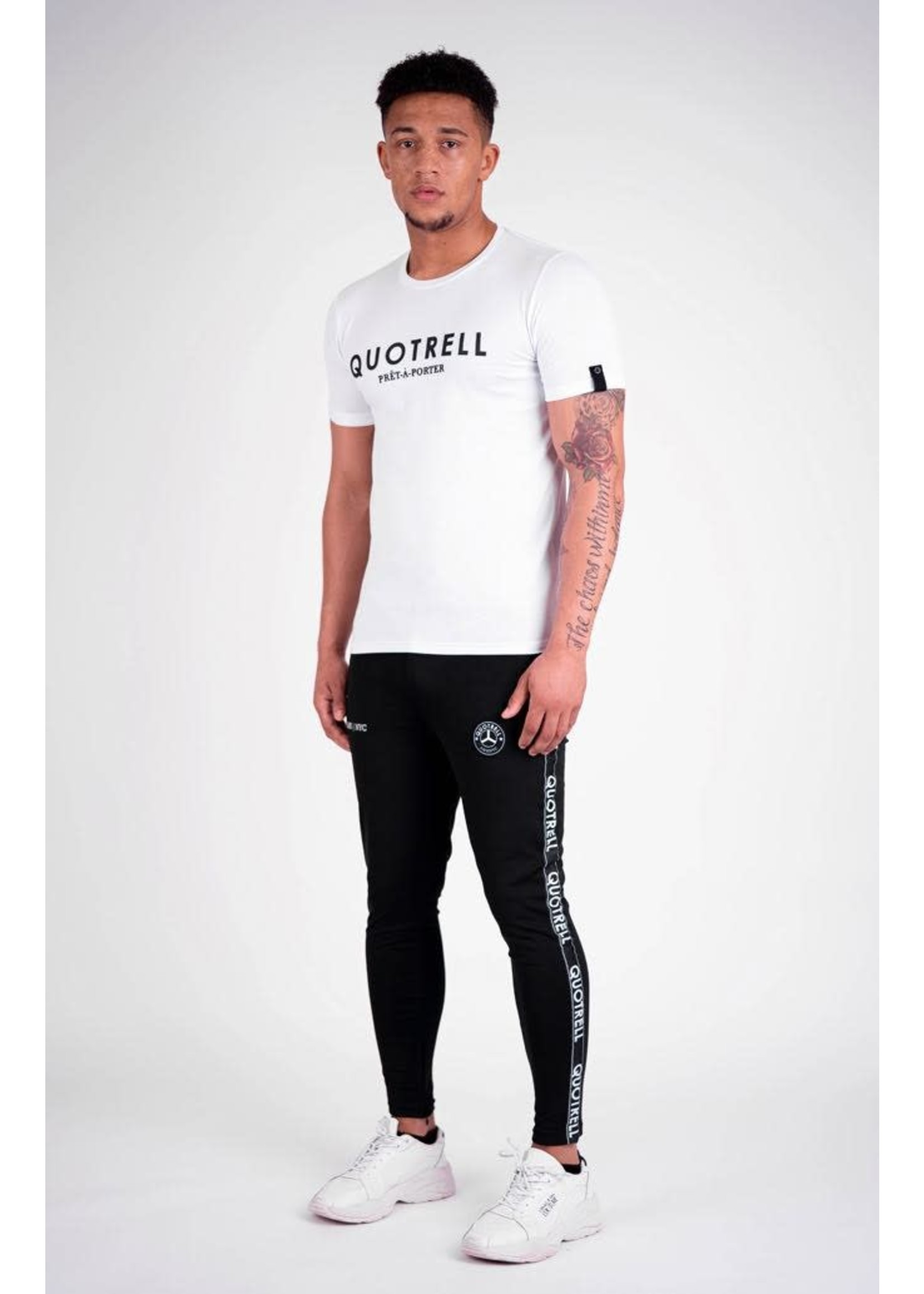 Quotrell QUOTRELL Basic Tee - White
