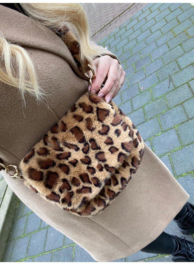 Teddy Leopard Bag