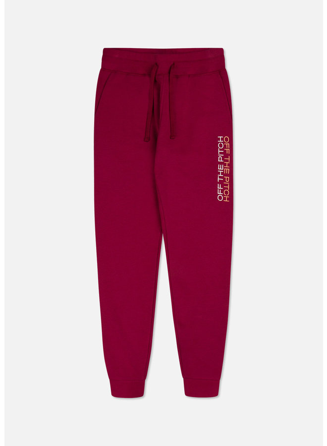 Off The Pitch The Soul Pants - Dark Red