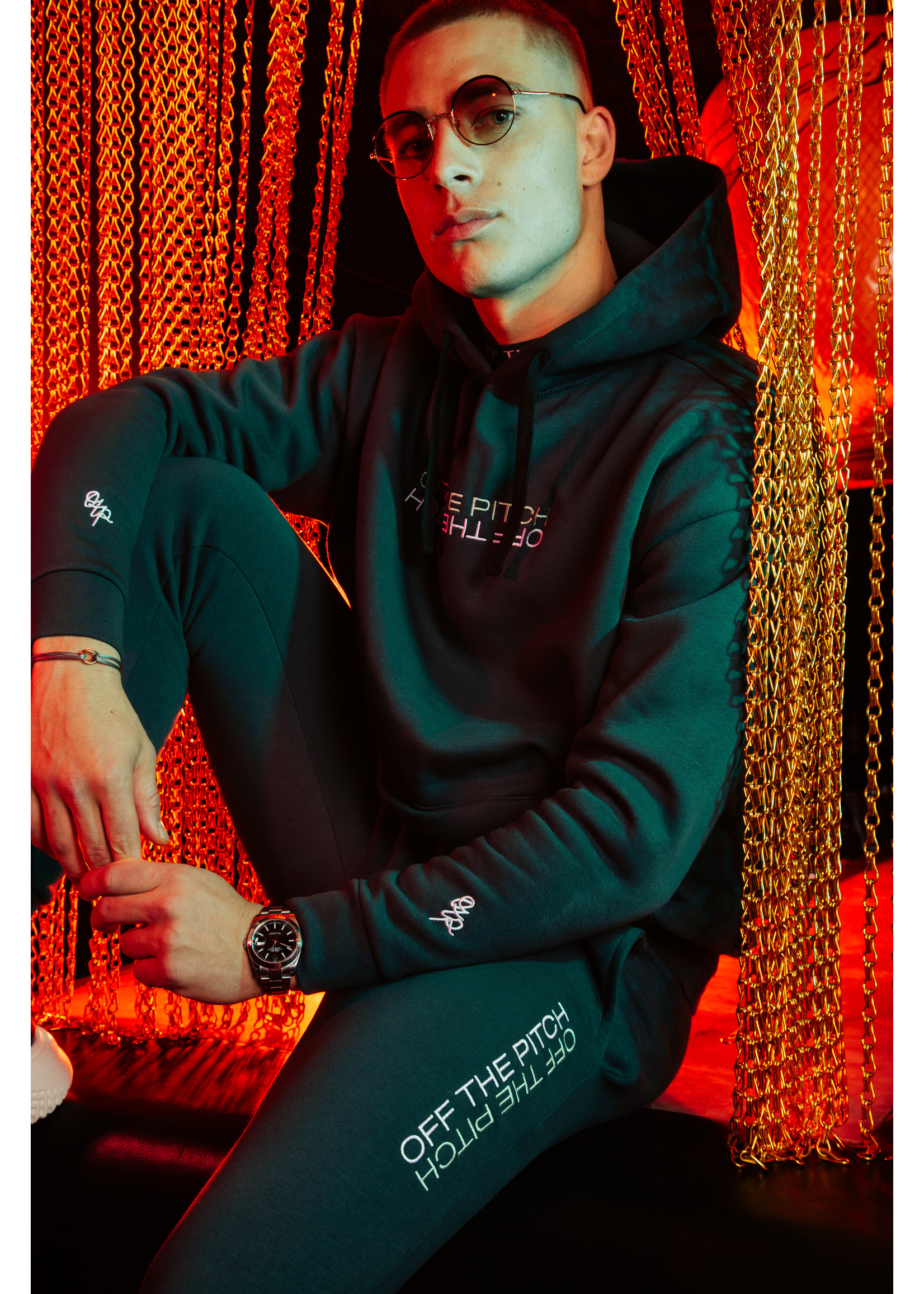 OFF THE PITCH Off The Pitch The Soul Hoodie - Dark Green