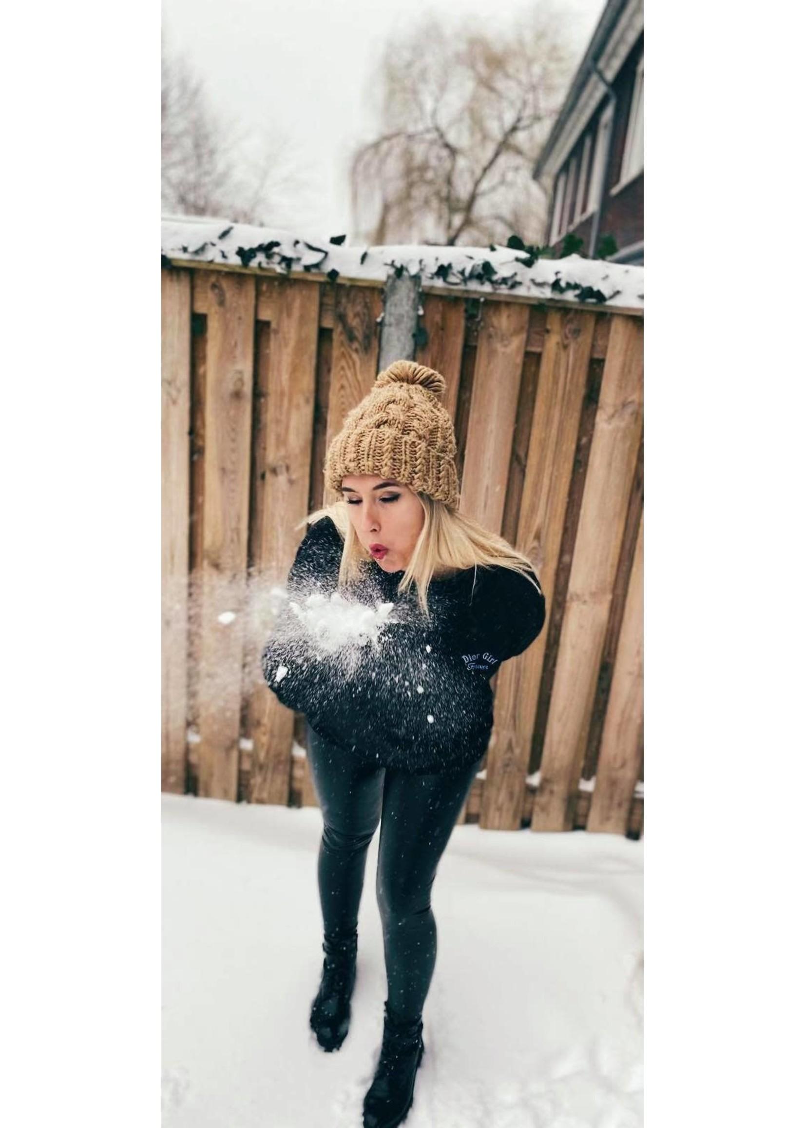 D Girl Forever Sweater - Black