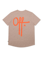 OFF THE PITCH OFF THE PITCH The Cosmic Slim Fit Tee - Taupe