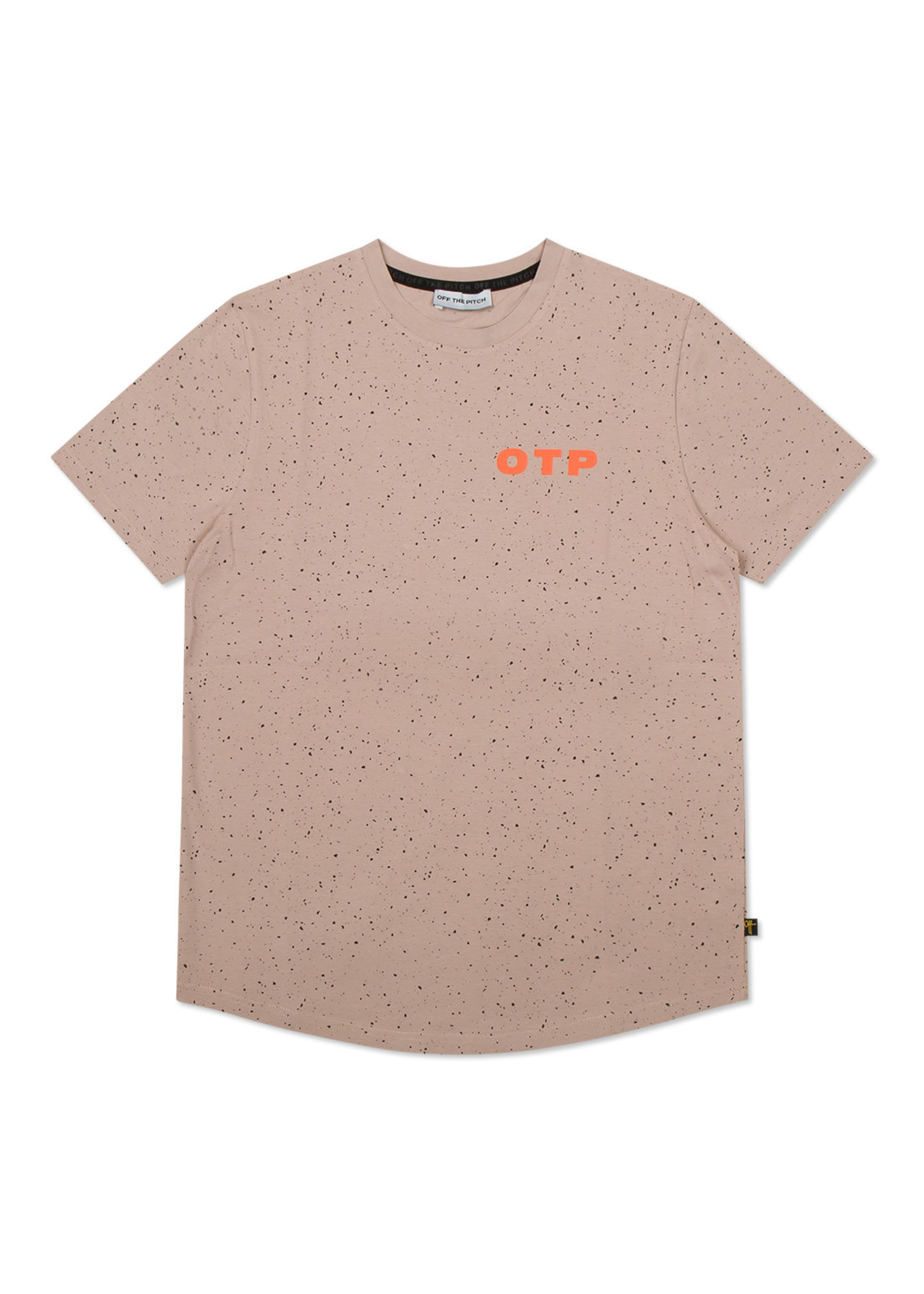 OFF THE PITCH The Cosmic Slim Fit Tee - Taupe