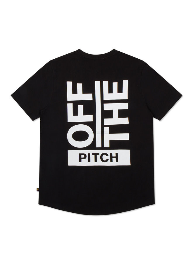 OFF THE PITCH The Saturnus Slim Fit Tee - Black