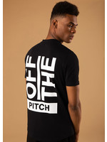 OFF THE PITCH OFF THE PITCH The Saturnus Slim Fit Tee - Black