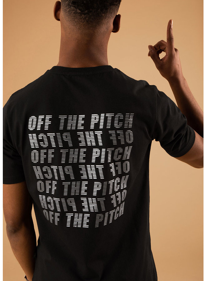 OFF THE PITCH The Galaxy Slim Fit Tee - Black