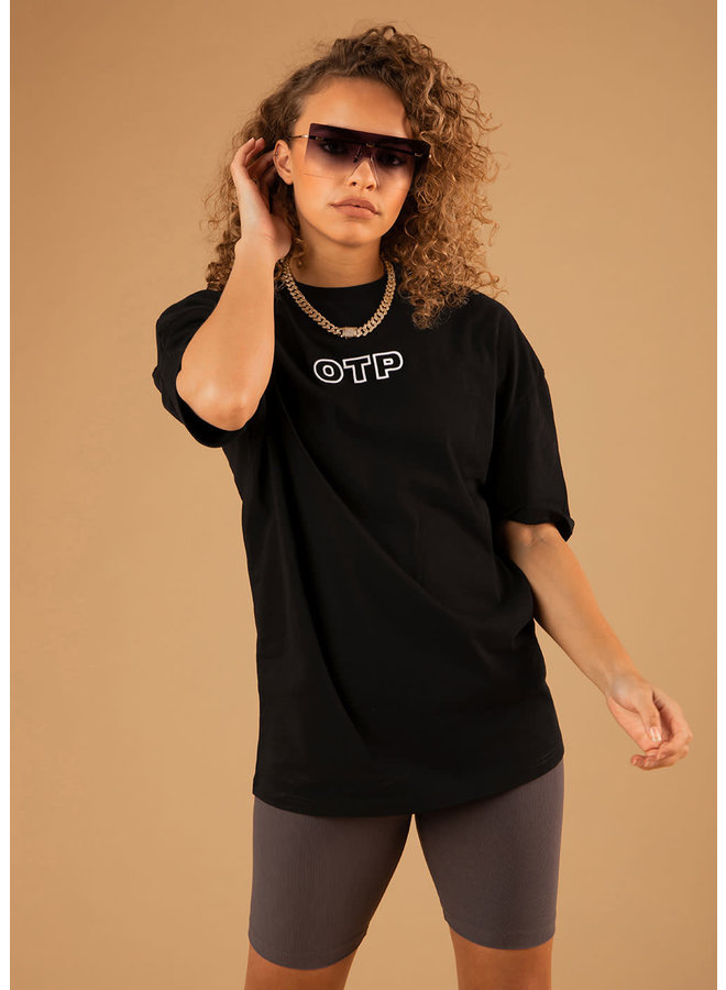 OTP The Pitch Oversized Tee - Black