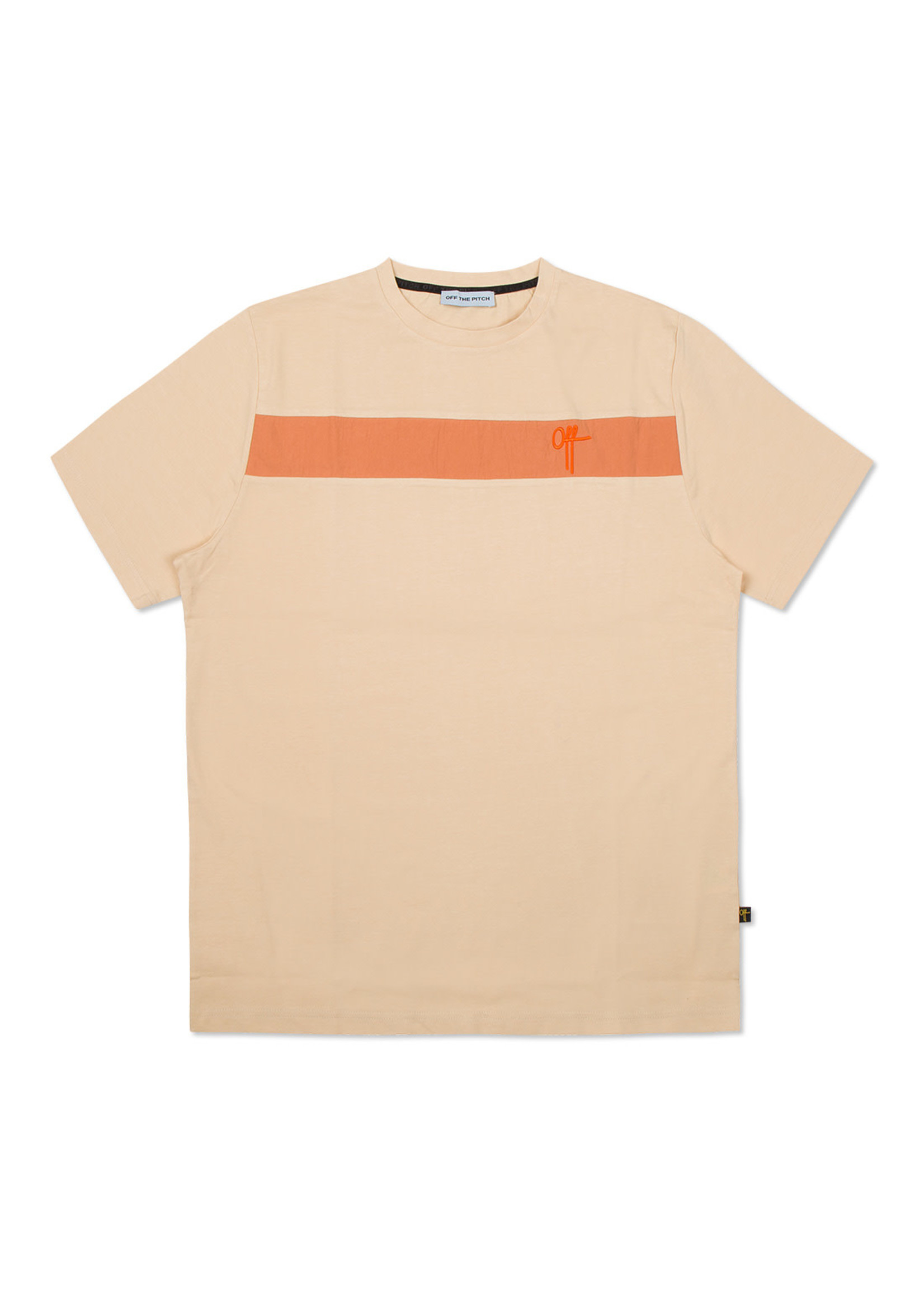 OFF THE PITCH The Comet Tee - Orange