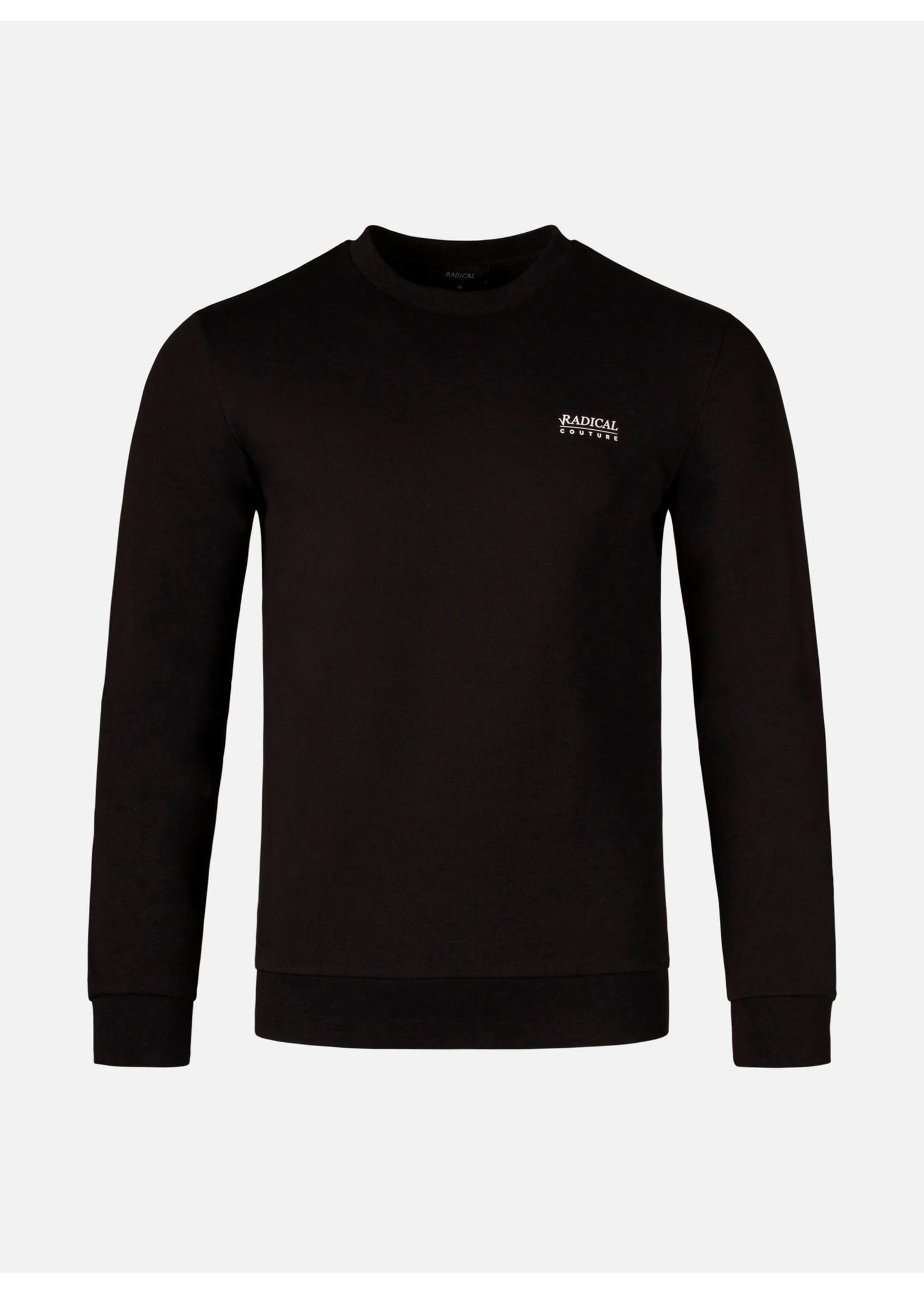 RADICAL RADICAL Luigi Crewneck Sweater - Black