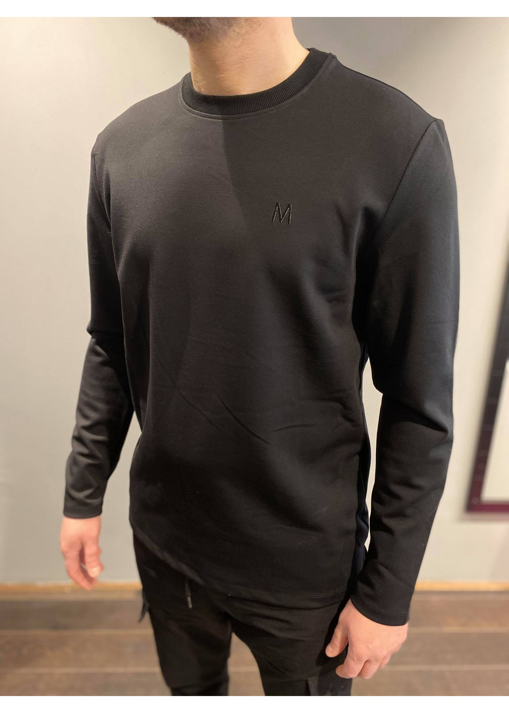 MARCH THE LABEL MARCH   Basic Longsleeve - Black