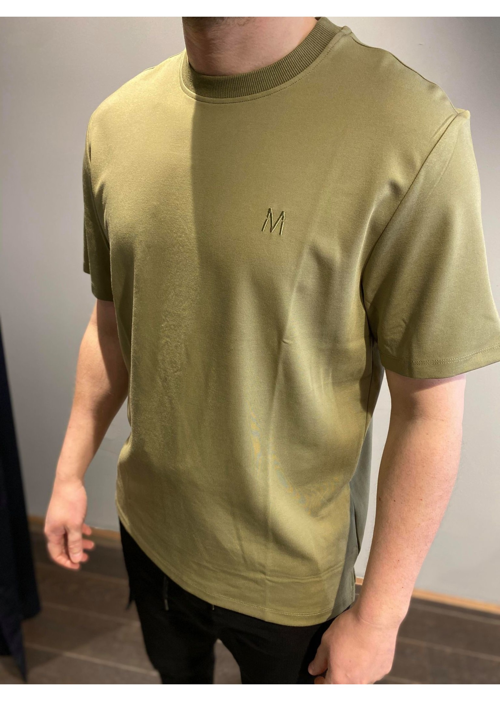 MARCH THE LABEL Basic Tee - Army